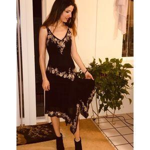 Dresses & Skirts - Black Beaded Dress